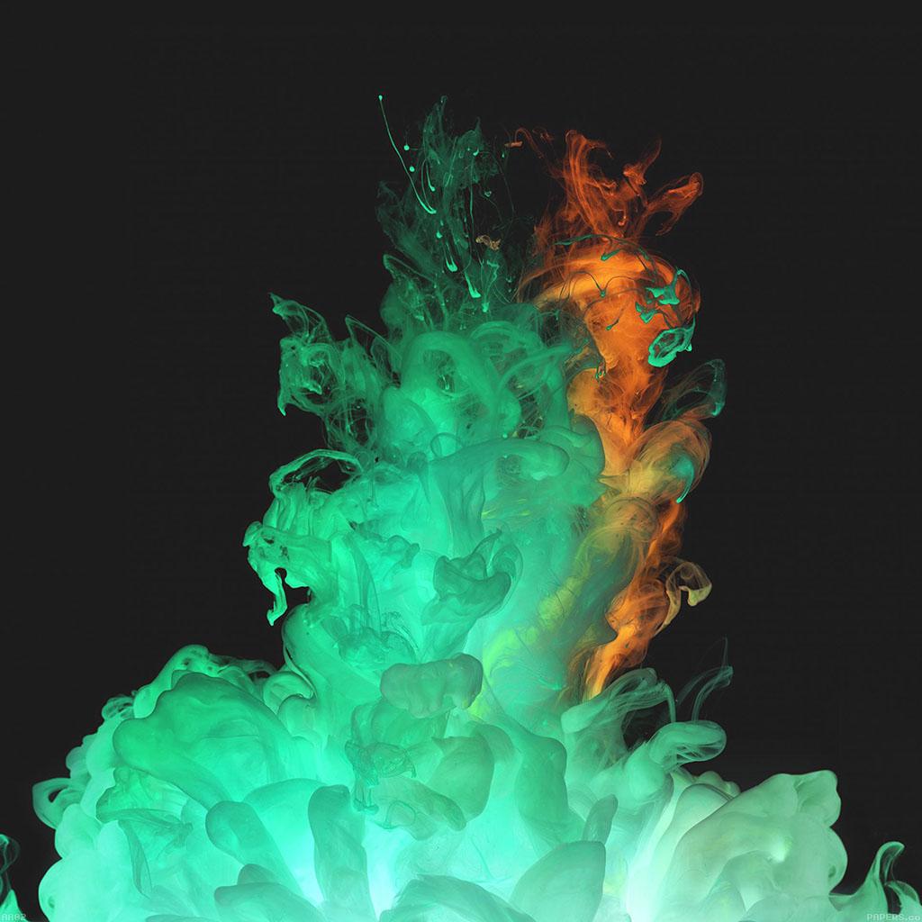 wallpaper-aa02-red-green-smoke-art-texture-wallpaper