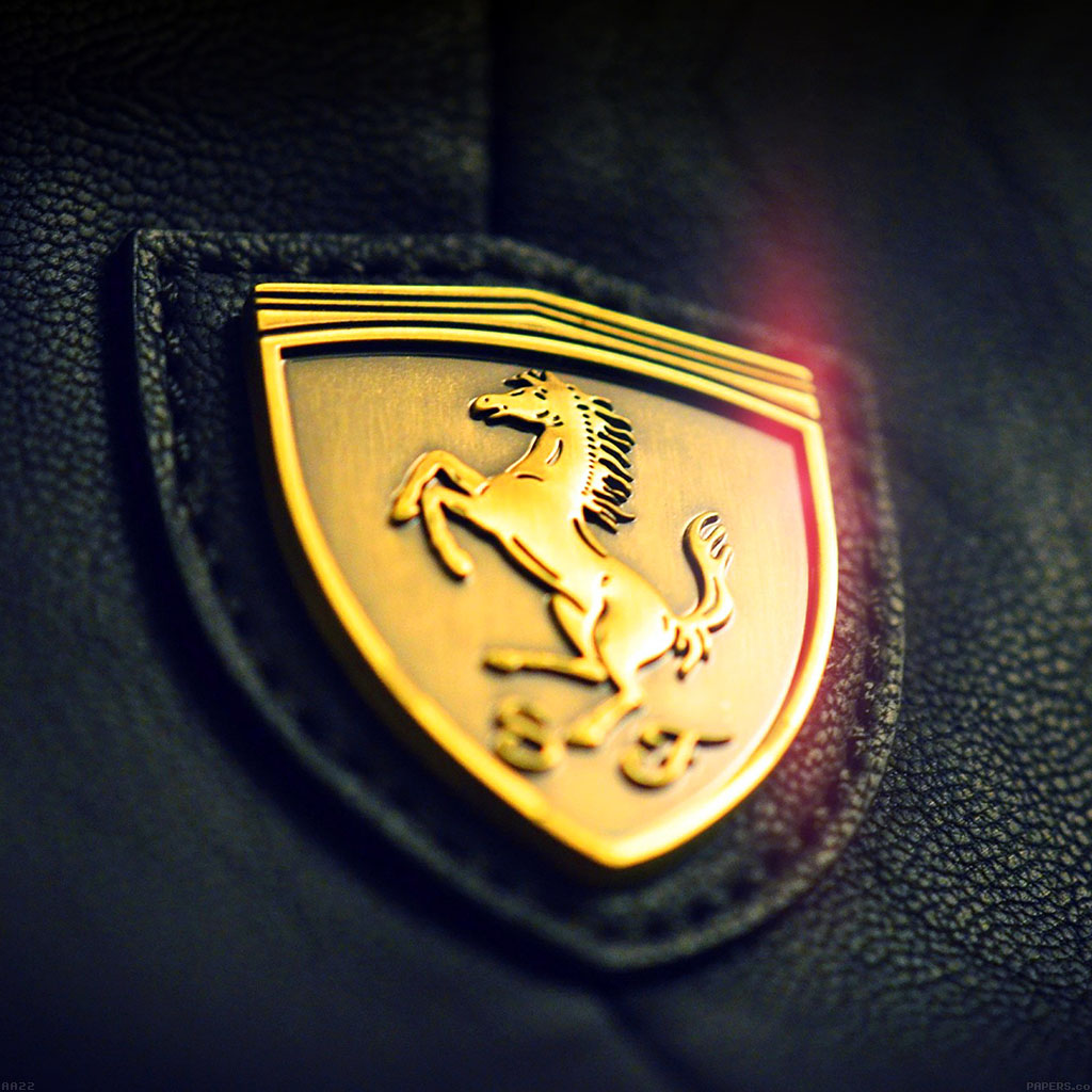 wallpaper-aa22-gold-ferrari-logo-art-wallpaper