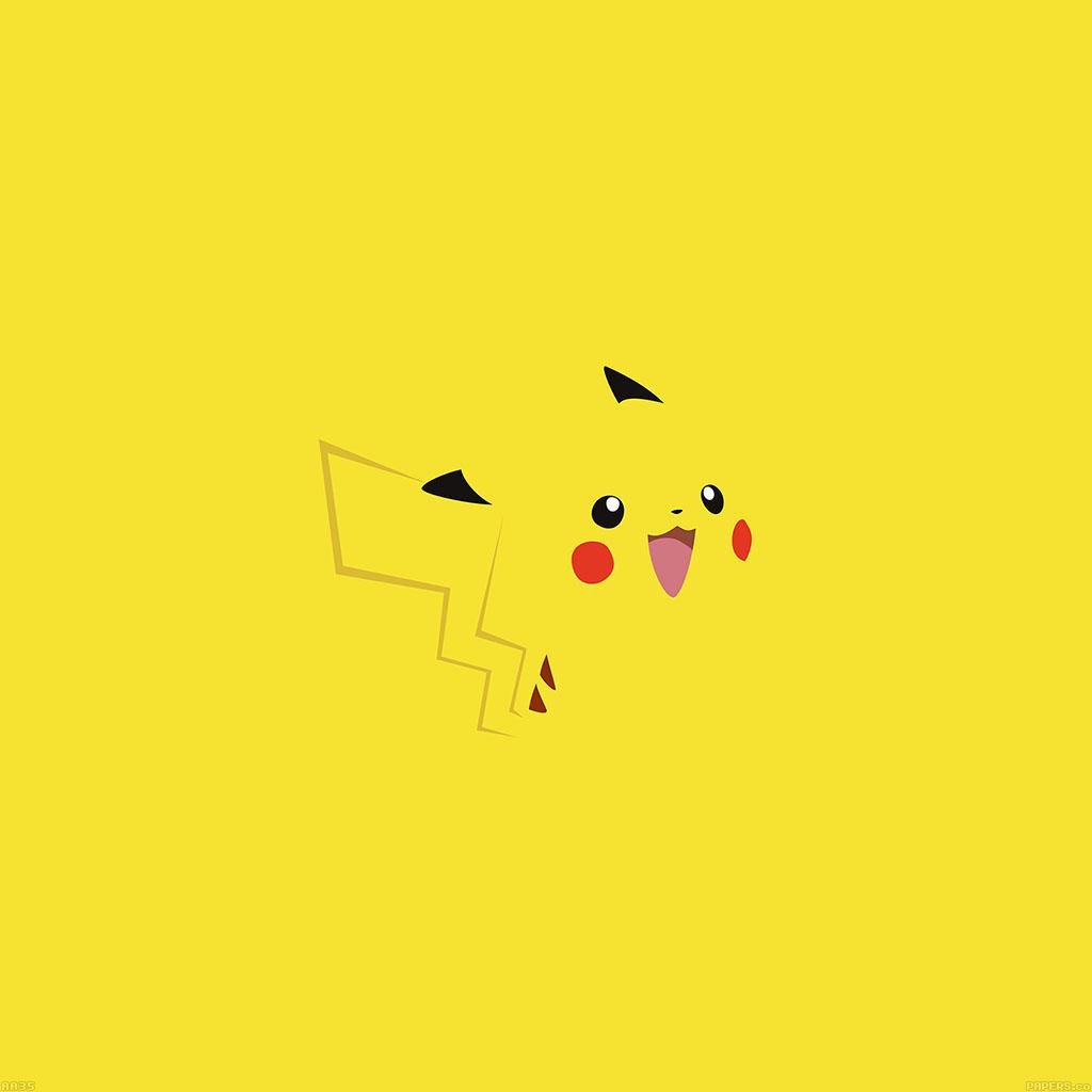 wallpaper-aa35-pika-pikachu-illust-minimal-art-wallpaper