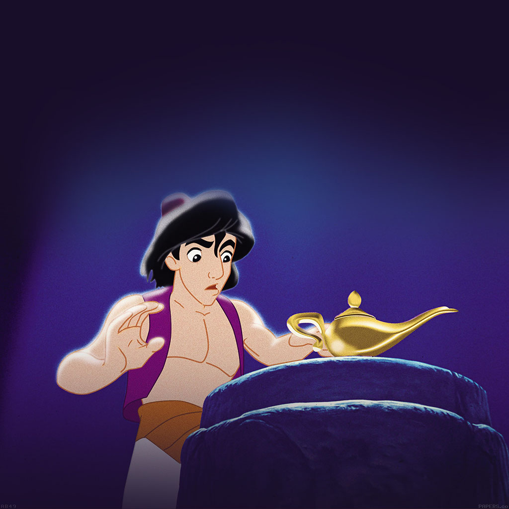 I Love Papers | ab49-wallpaper-aladdin-with-the-lamp-disney for Aladdin Lamp Wallpaper  177nar