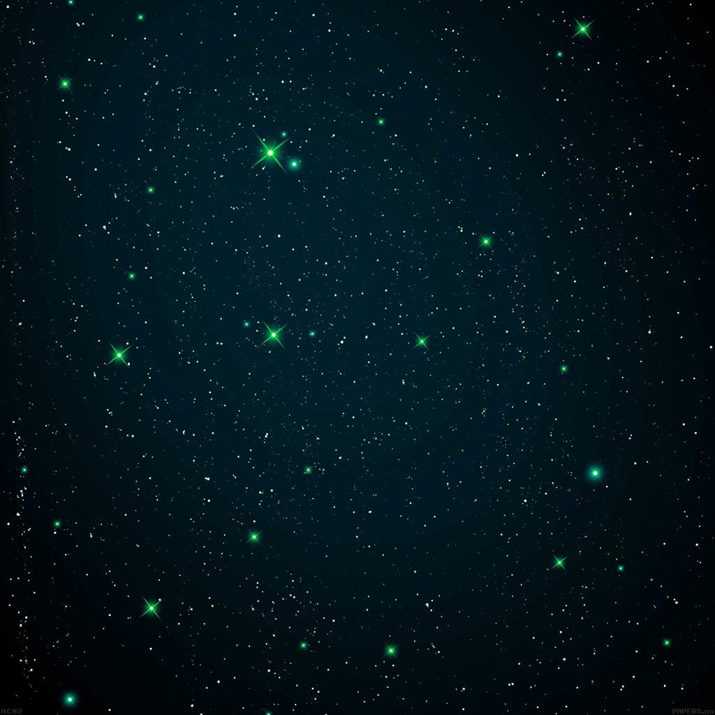 wallpaper-ac02-wallpaper-space-star-night-dark-green-wallpaper
