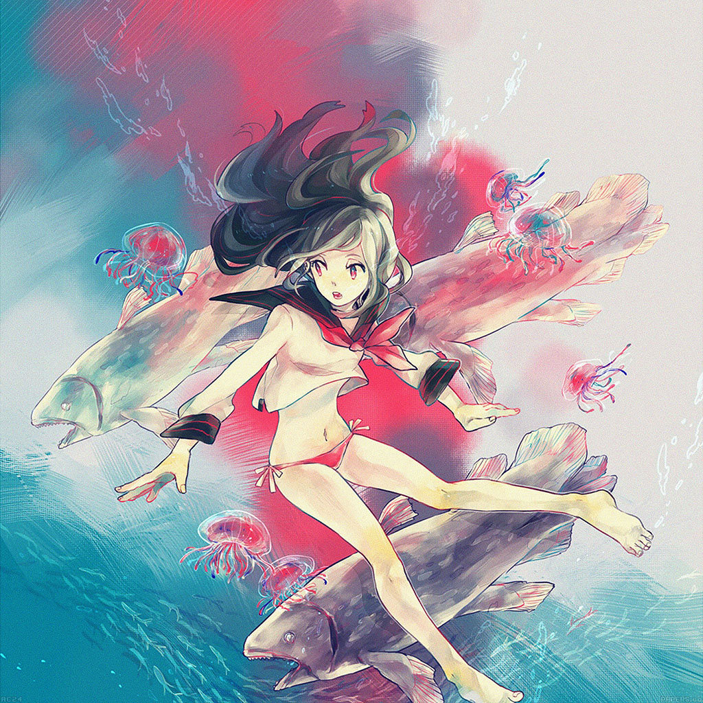 wallpaper-ac24-wallpaper-girl-in-ocean-anime-illust-wallpaper