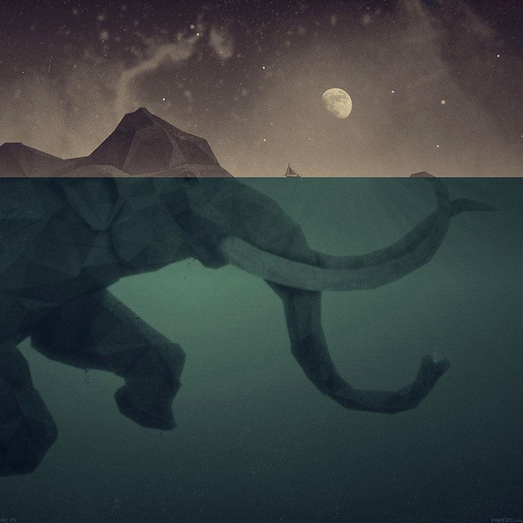 wallpaper-ac75-wallpaper-elephant-illust-sea-swim-art-wallpaper