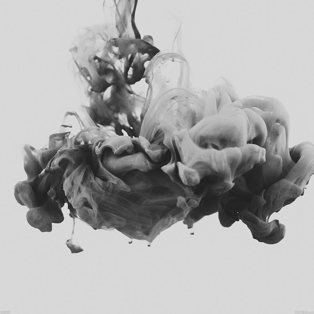wallpaper-ae85-gray-smoke-art-wonderful-wallpaper