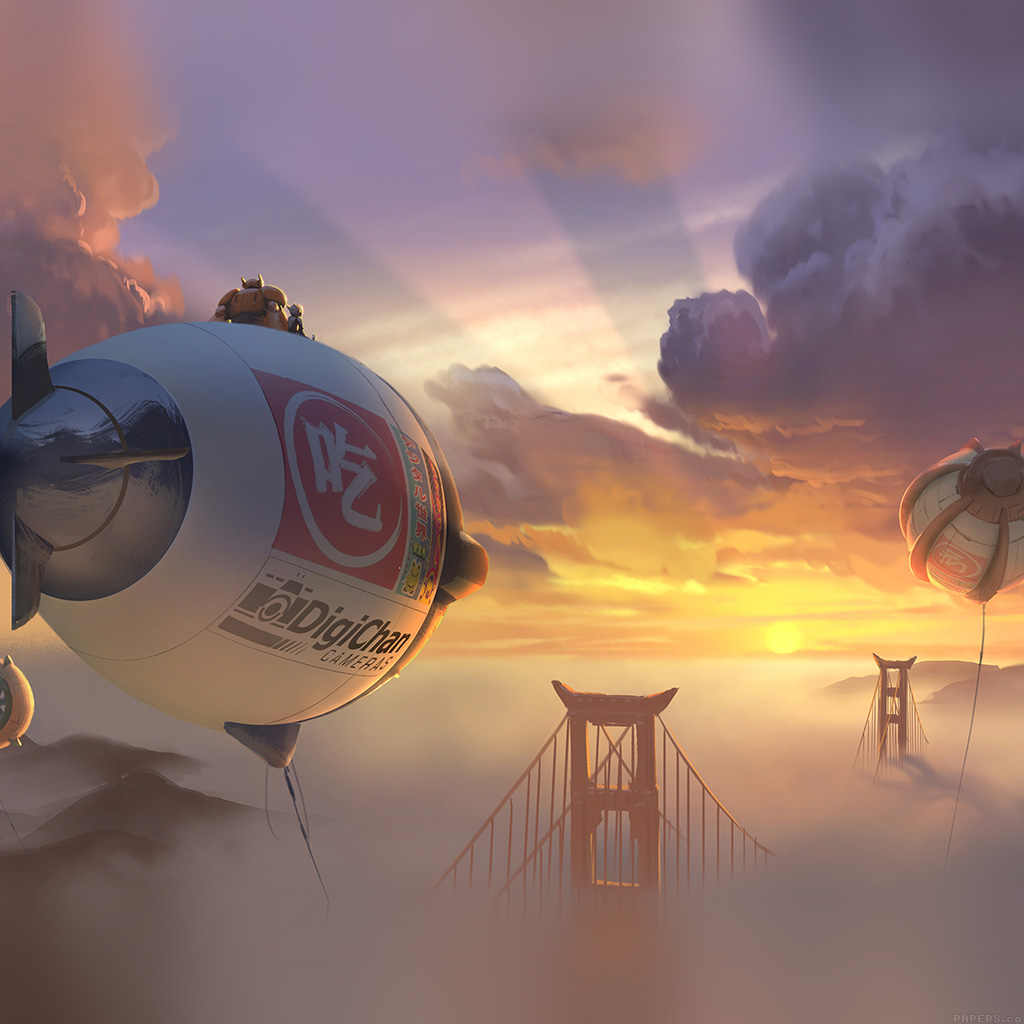 wallpaper-af88-big-hero-6-fly-air-disney-art-illust-wallpaper