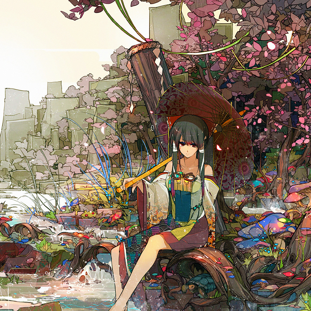 wallpaper-ag03-sakura-sora-illust-anime-art-wallpaper