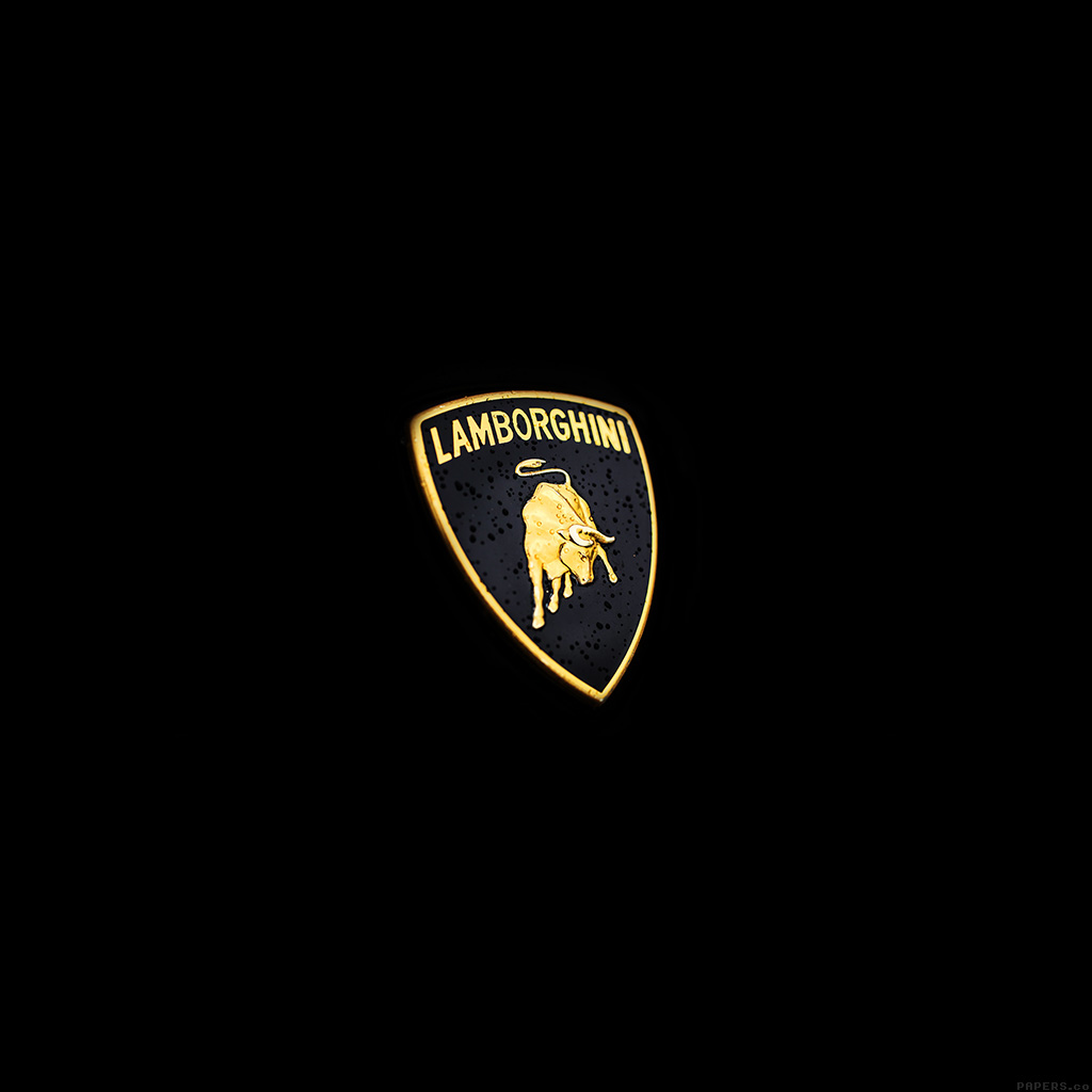 wallpaper-ai03-car-lamborghini-logo-art-minimal-dark-wallpaper
