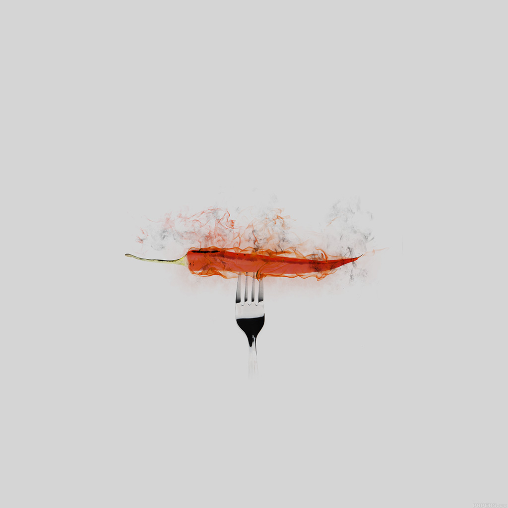wallpaper-ai17-pepper-red-hot-food-art-white-wallpaper