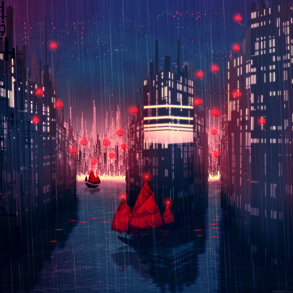 wallpaper-aj08-rainy-anime-city-art-illust-wallpaper