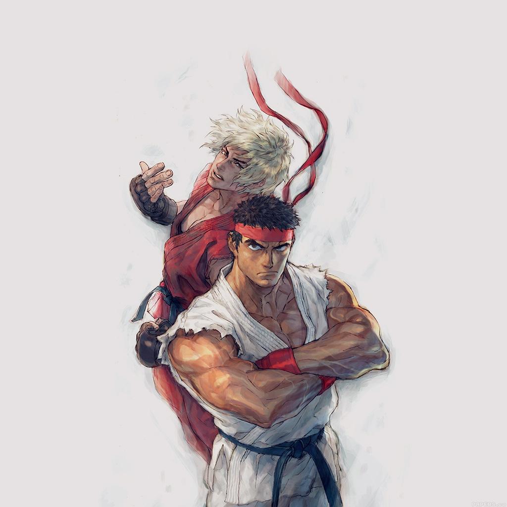 wallpaper-aj10-anime-street-fighters-ryu-ken-art-illust-wallpaper