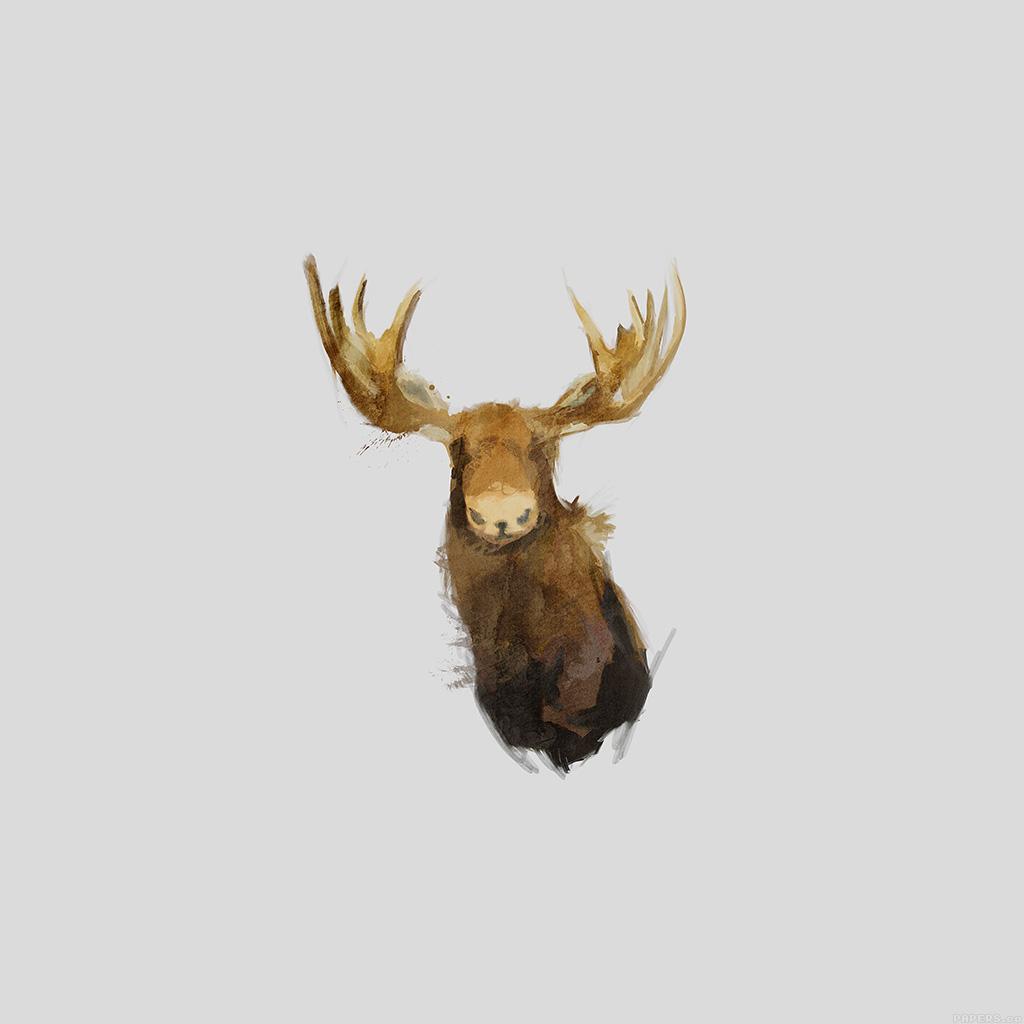 wallpaper-aj15-moose-illust-minimal-art-by-garillu-wallpaper