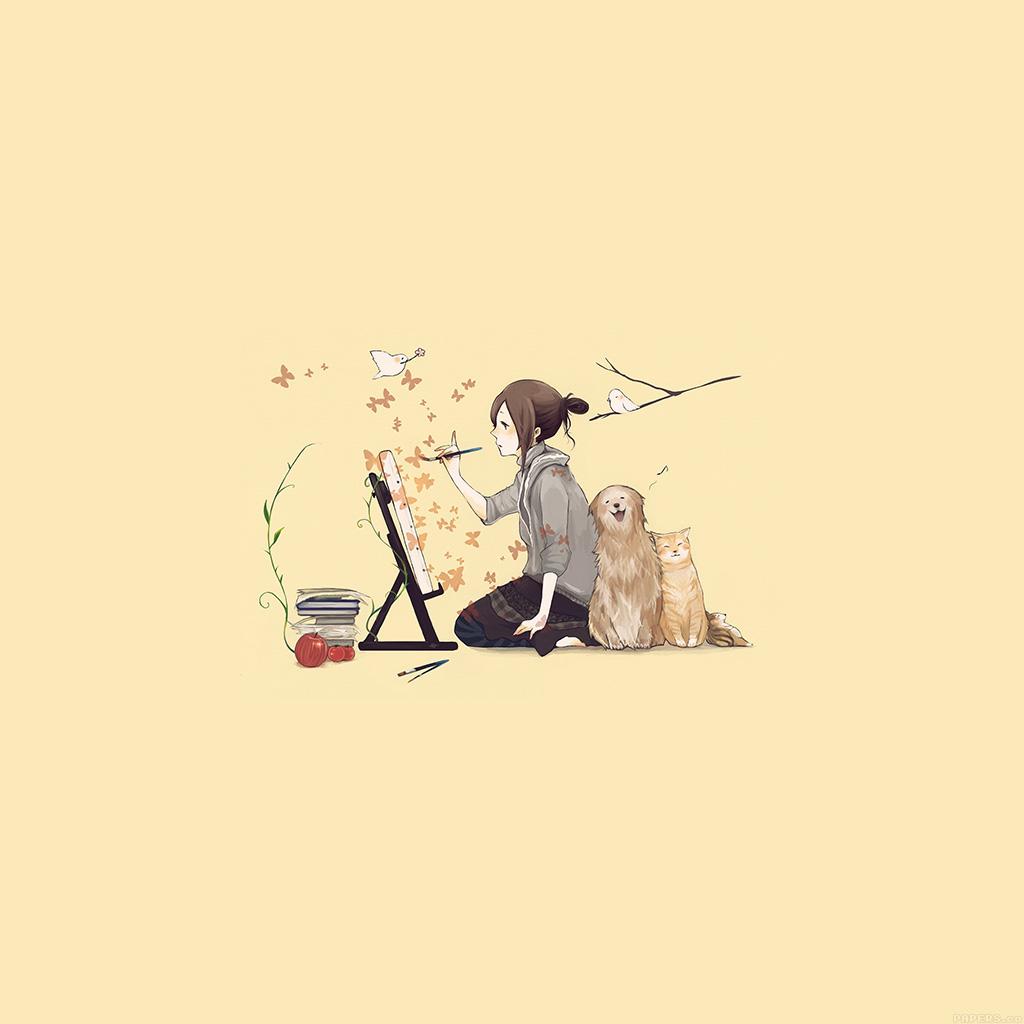 wallpaper-aj48-illustrator-dog-cat-art-illust-wallpaper