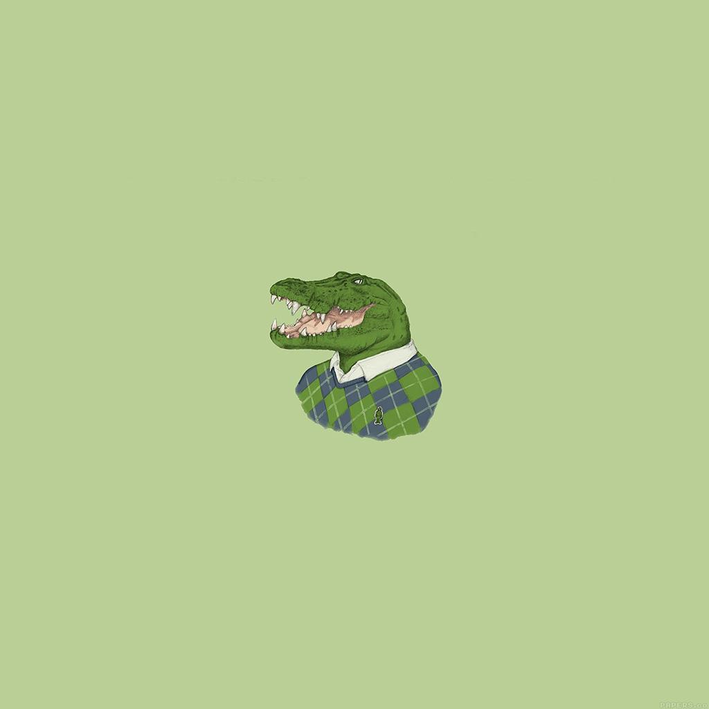 wallpaper-aj72-lacoste-human-animal-minimal-art-illust-green-wallpaper