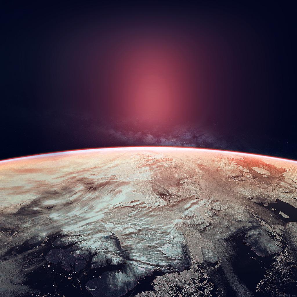 wallpaper-ak85-space-red-earch-winter-dark-art-wallpaper