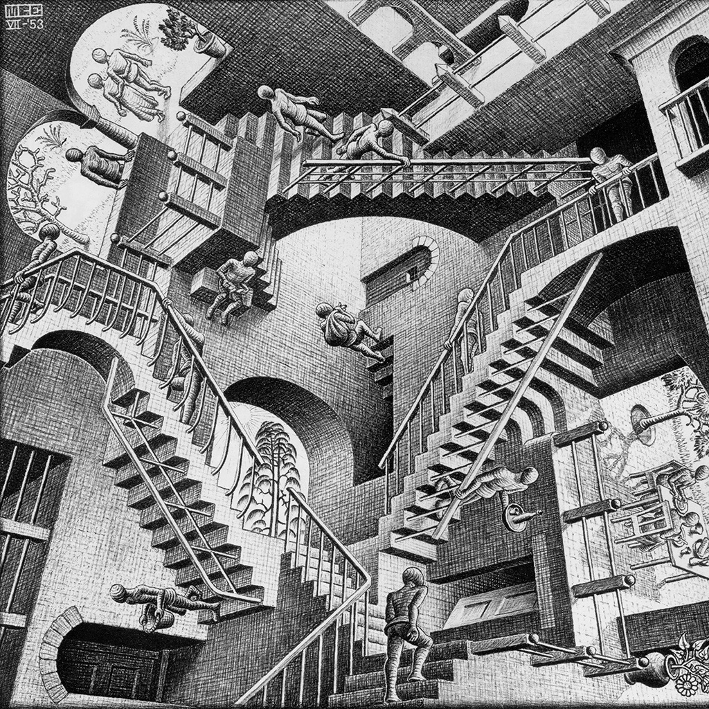 wallpaper-al09-escher-art-infinite-illust-classic-wallpaper