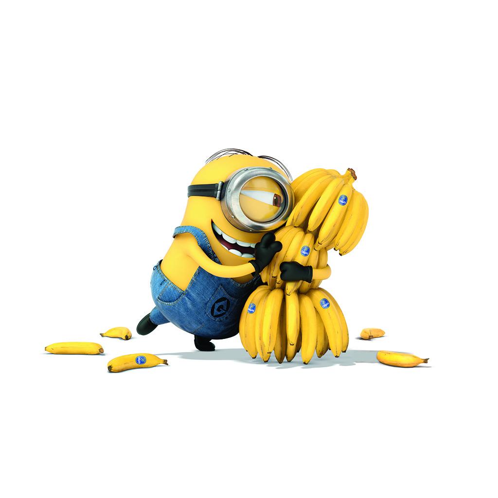 wallpaper-ap08-minions-art-illust-film-cute-banana-yellow-wallpaper