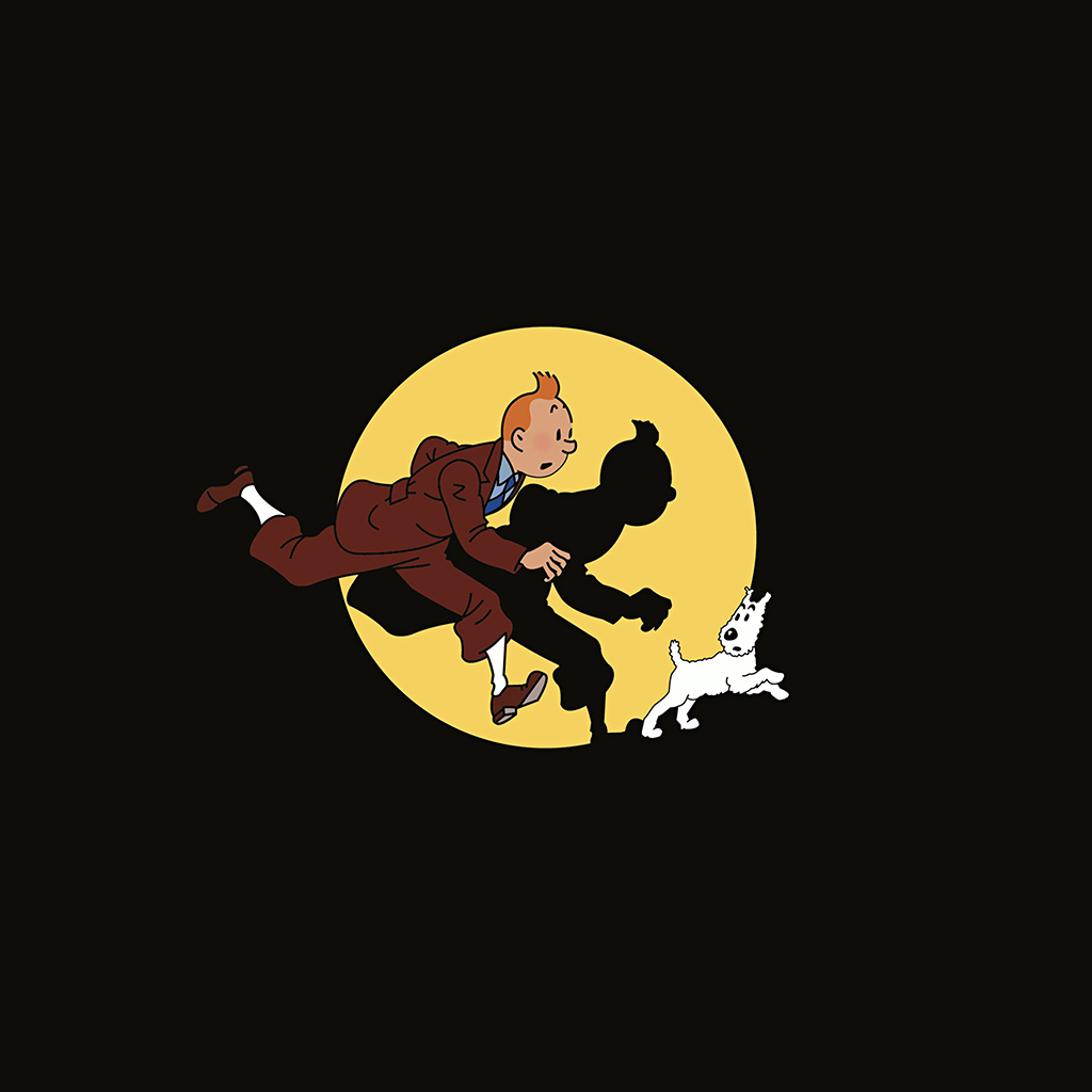 wallpaper-ap68-tintin-illustration-art-dark-cute-wallpaper