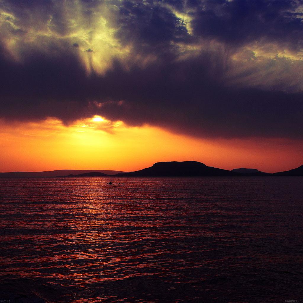 Обои на рабочий стол пейзажи:море, закат, пейзаж - скачать бесплатно