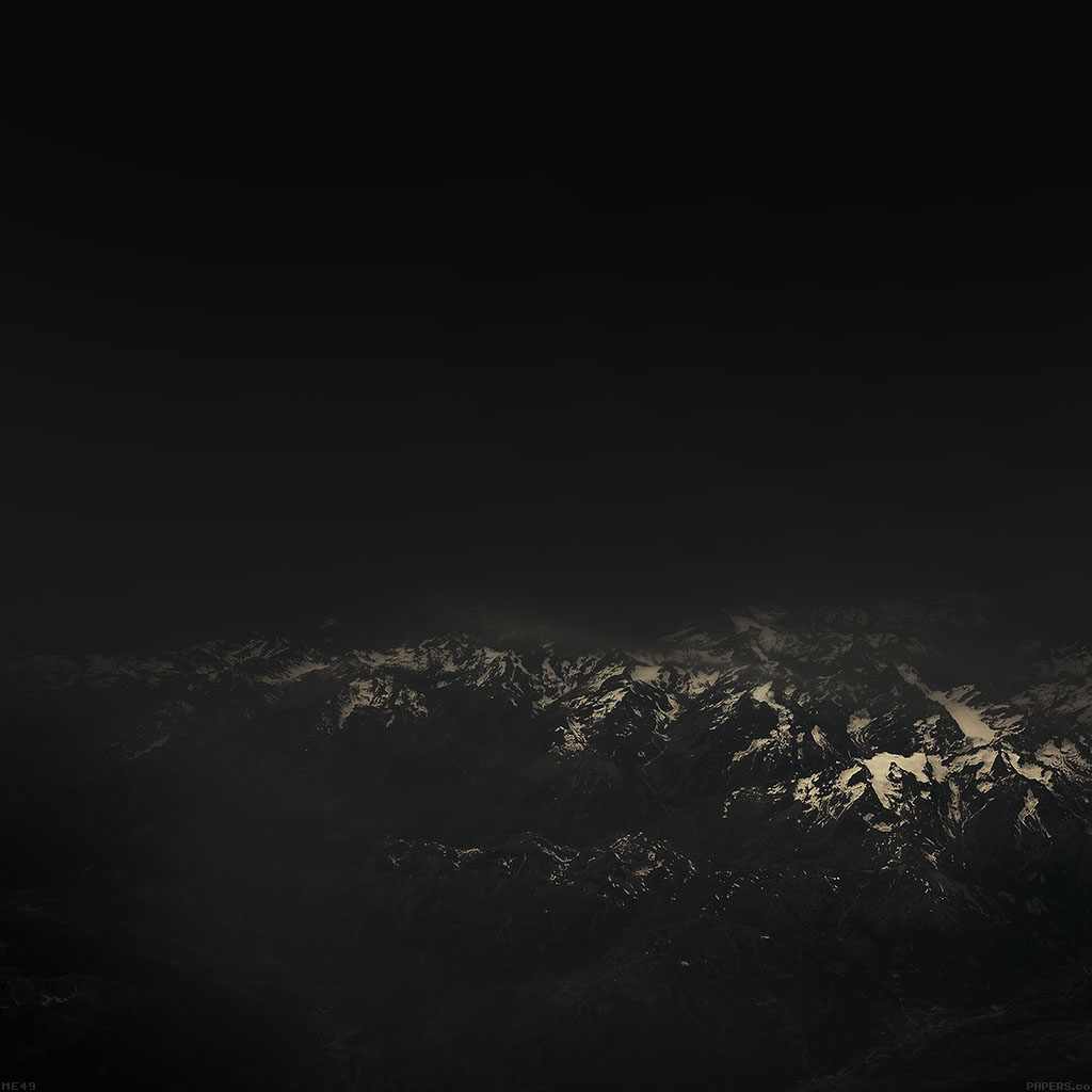 wallpaper-me49-the-alps-dark-mountain-sky-view-wallpaper