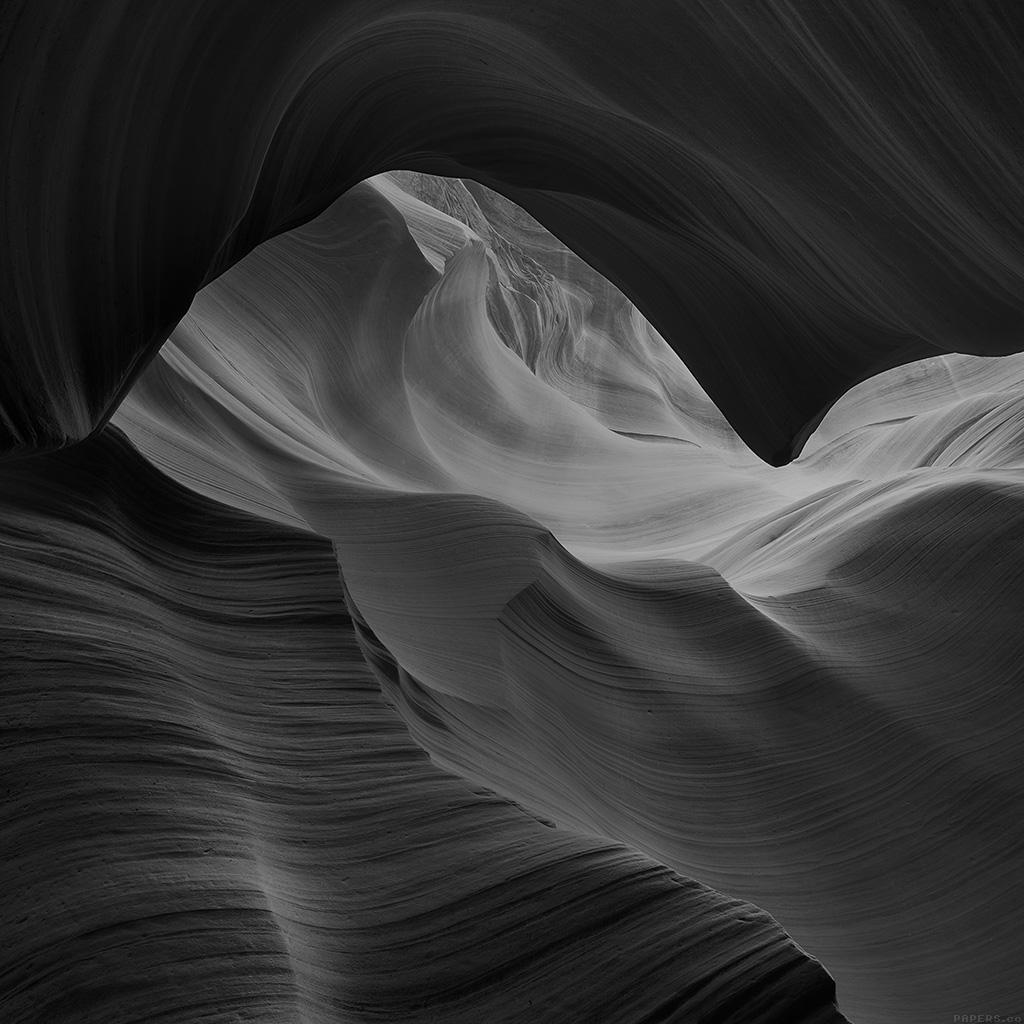 wallpaper-mi29-antelope-canyon-bw-black-mountain-rock-nature-wallpaper