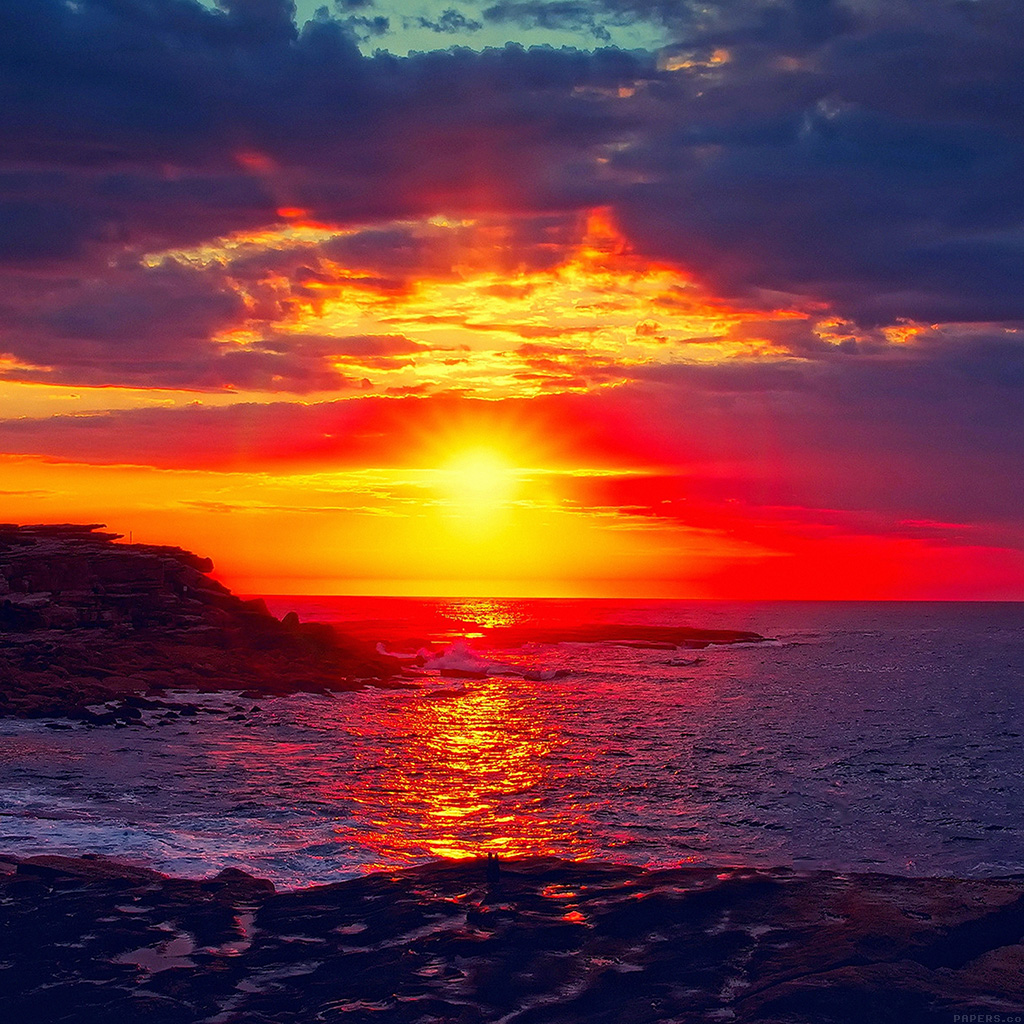 wallpaper-mk46-sunset-beach-nature-afternoon-love-wallpaper