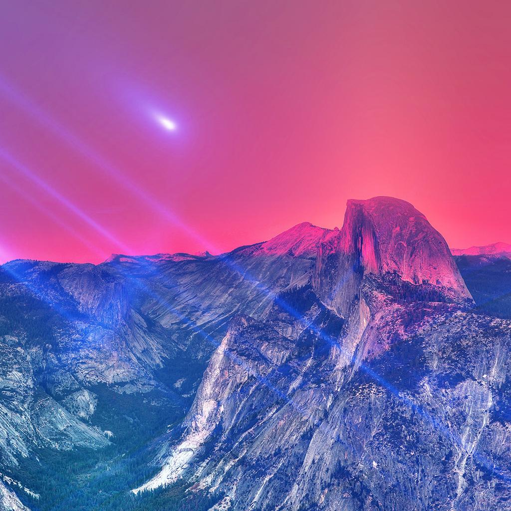wallpaper-mm29-yosemite-mountain-art-blue-flare-sky-nature-wallpaper