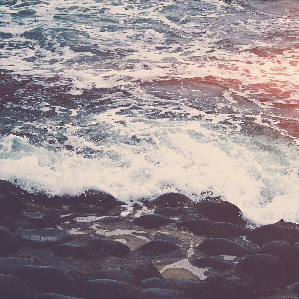 wallpaper-mq70-wave-ocean-beach-lake-nature-stone-flare-wallpaper