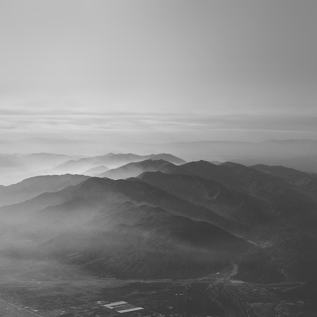 wallpaper-mu40-mountain-fog-nature-dark-bw-gray-sky-view-wallpaper