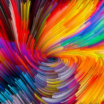 Vivid Color Vortex
