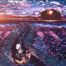 aq86-anime-night-art-sunset-lovely-illustration-flare