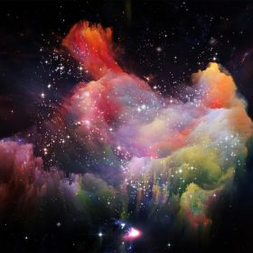 as36-space-rainbow-colorful-star-art-illustration-red