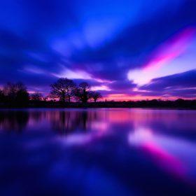 nl30-night-lake-blue-sunset-nature-soft