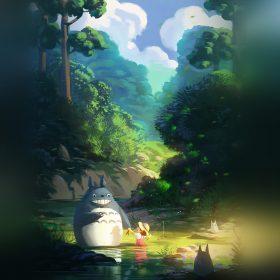 av33-totoro-anime-liang-xing-illustration-art
