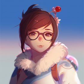 bc42-mei-overwatch-game-art-illustration-cute