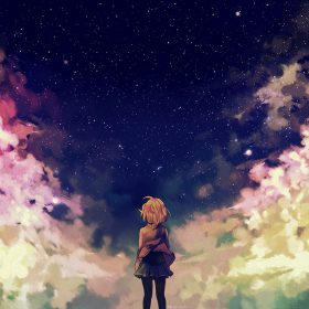 ad65-starry-space-illust-anime-girl