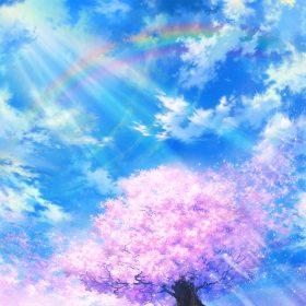 bd75-anime-sky-cloud-spring-art-illustration