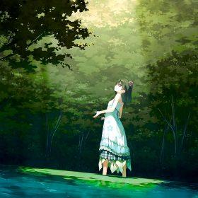 be21-anime-girl-green-art-illustration