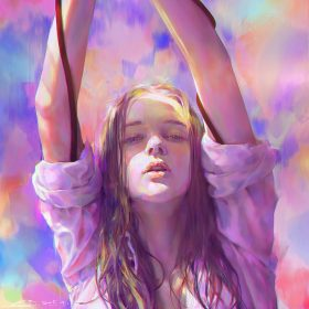 az38-yanjun-cheng-girl-color-illustration-art-paint