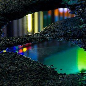 bj31-neon-street-oil-color-art