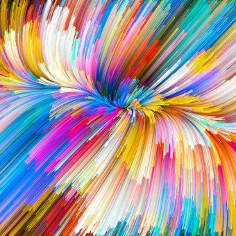 Unfolding of Color Vortex